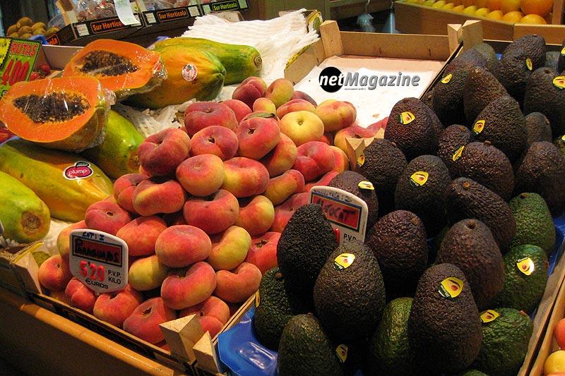 Mercat de l´Olivar - Mallorcas grösste Markthalle - Südfrüchte zum Geniessen